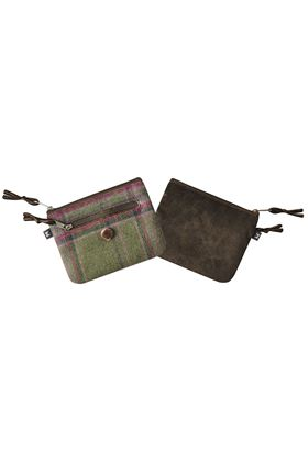 Picture of Earth Squared Moorland Tweed Emily Purse