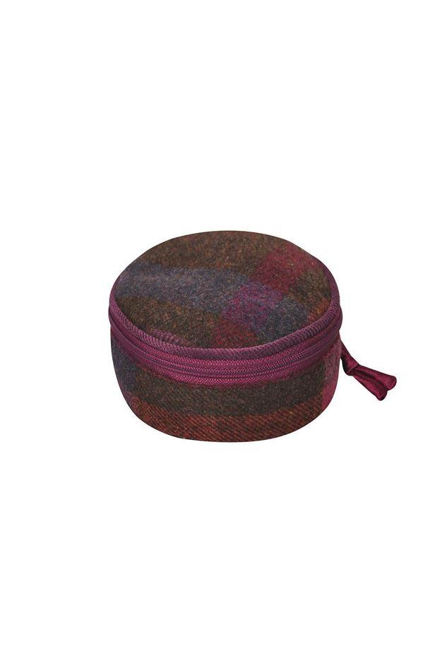 Picture of Earth Squared Mulberry Tweed Jewellery Pouch