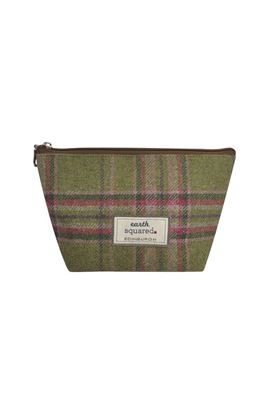 Picture of Earth Squared Moorland Tweed Make Up Bag