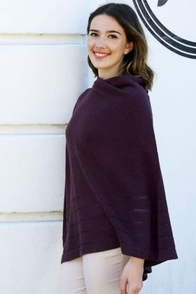 Picture of Earth Squared Mulberry Cotton Wrap