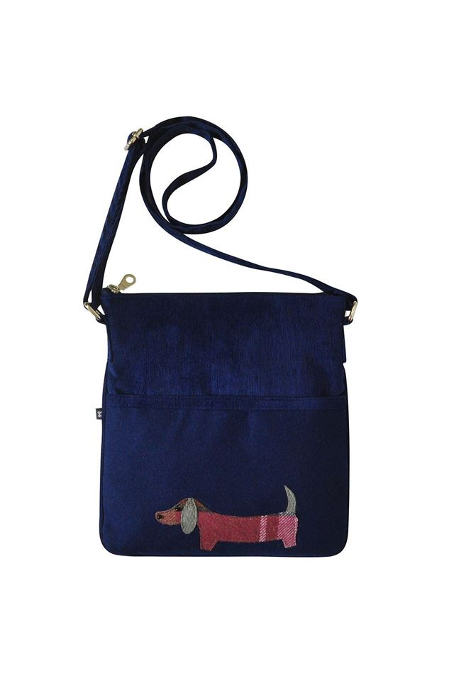 Picture of Earth Squared Dog Animal Applique Block Bag