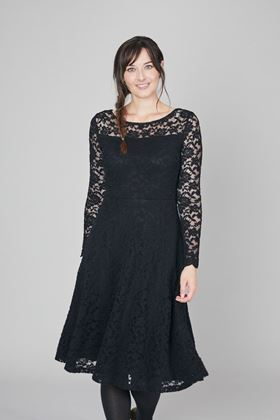 Picture of Lily & Me Edgeworth Plain Embroidered Lace Dress