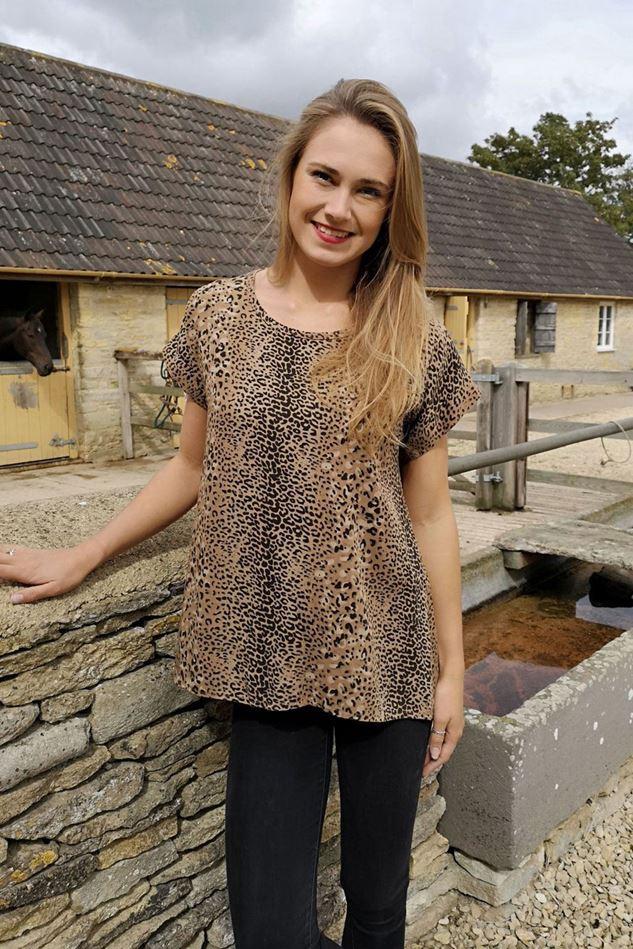 Picture of Luella Leopard Print Top