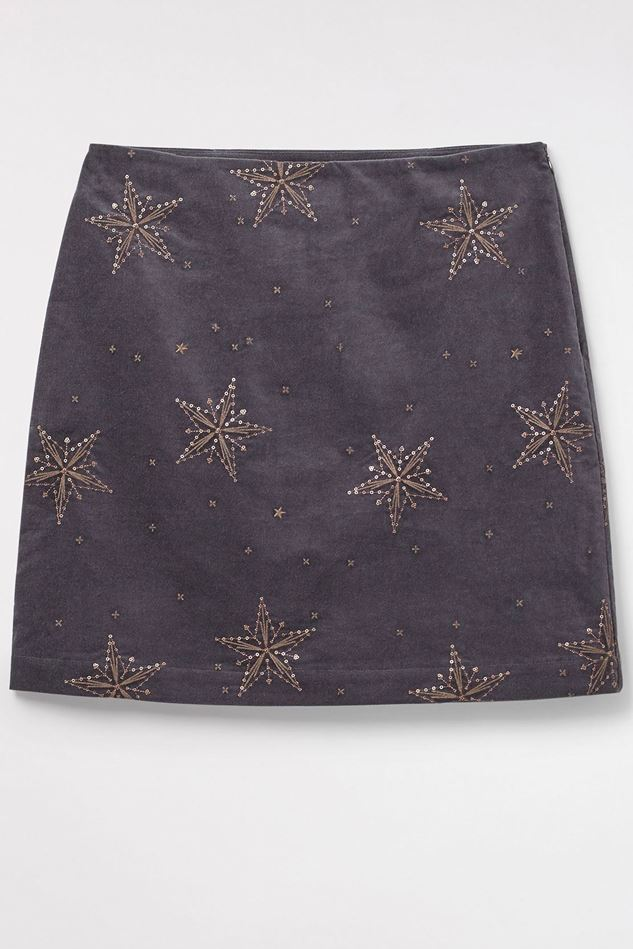 Picture of White Stuff Star Cloud Velvet Skirt