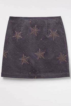 Picture of White Stuff Star Cloud Velvet Skirt