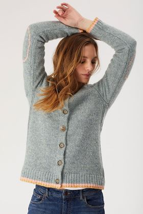 Picture of white stuff piper cardi