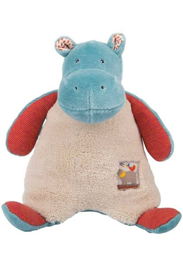 Picture of Moulin Roty Les Papoum Hippo rattle