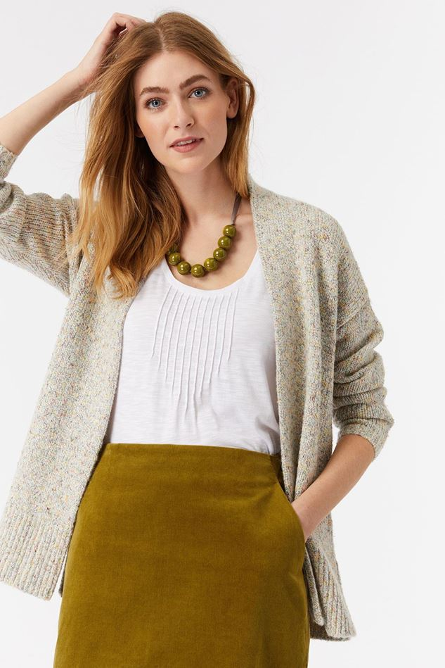 Picture of White Stuff Speckled Long Line Cardi