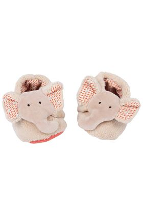 Picture of Moulin Roty Les Papoum Elephant Slippers