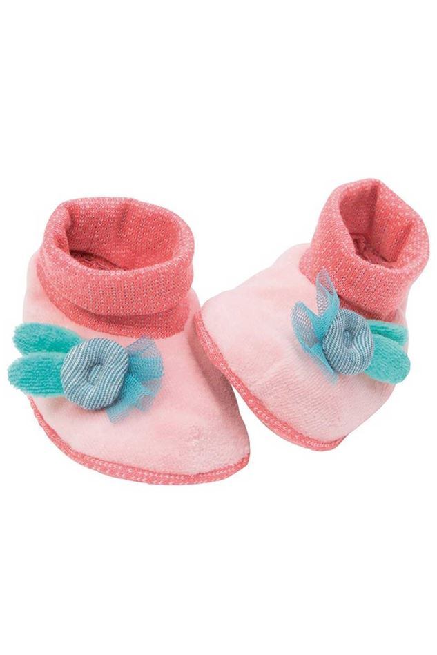 Picture of Moulin Roty Mademoiselle et Ribambelle Baby Slippers