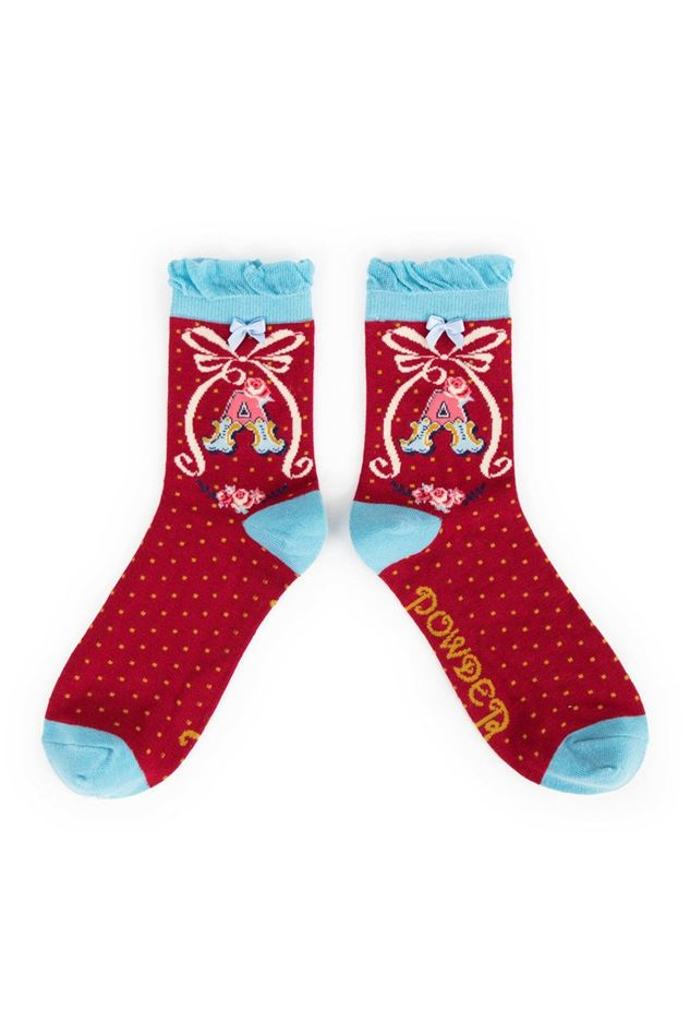 Picture of Powder A-Z Ankle Socks - A