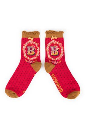 Picture of Powder A-Z Ankle Socks - B