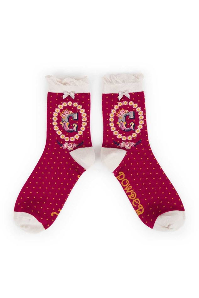 Picture of Powder A-Z Ankle Socks - C