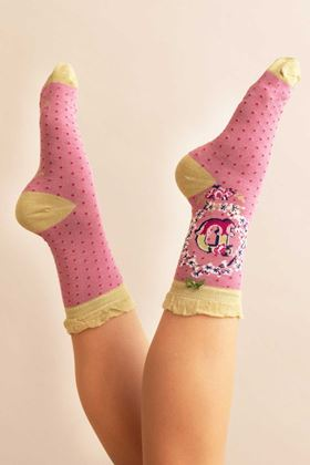 Picture of Powder A-Z Ankle Socks - D