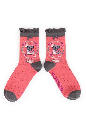 Picture of Powder A-Z Ankle Socks - E