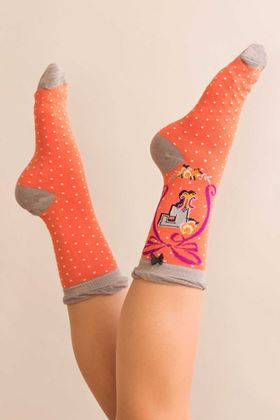 Picture of Powder A-Z Ankle Socks - F