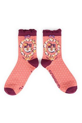 Picture of Powder A-Z Ankle Socks - G