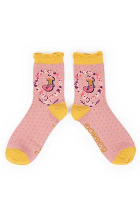 Picture of Powder A-Z Ankle Socks - J
