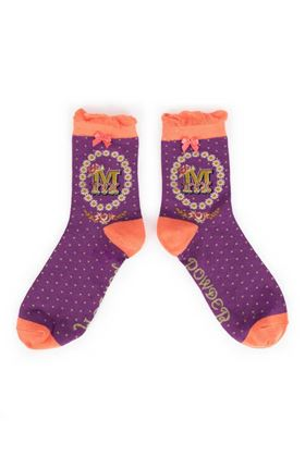 Picture of Powder A-Z Ankle Socks - M