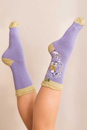 Picture of Powder A-Z Ankle Socks - N