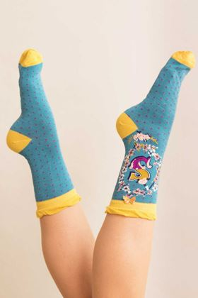 Picture of Powder A-Z Ankle Socks - S