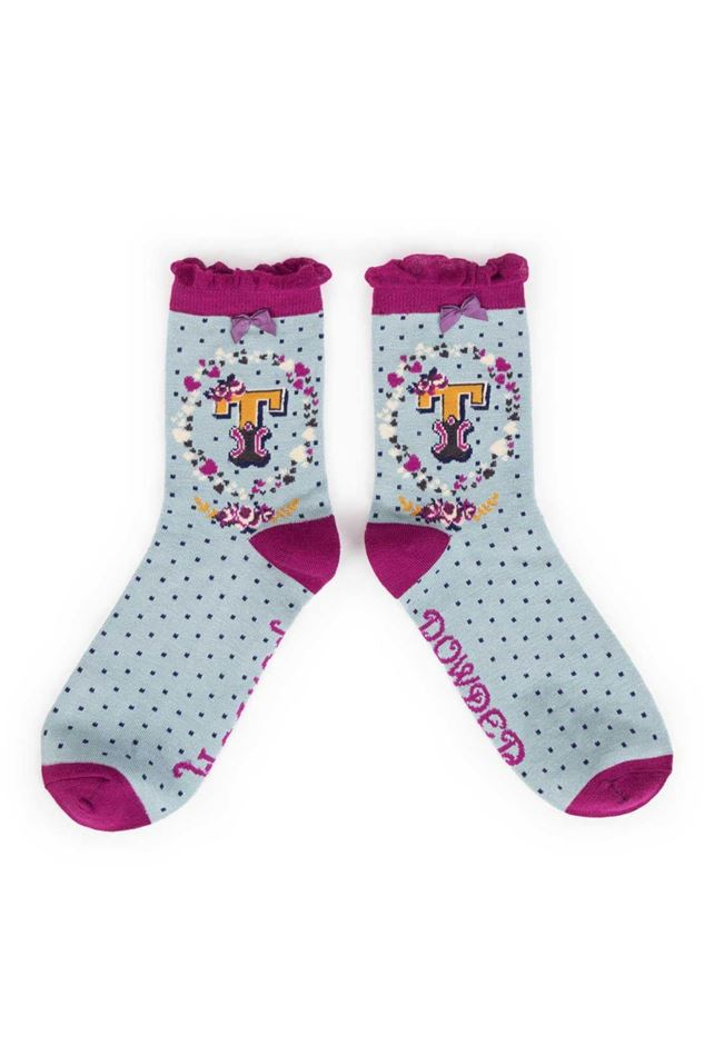 Picture of Powder A-Z Ankle Socks - T
