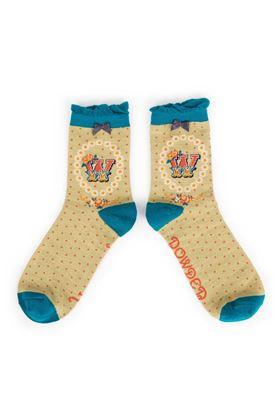 Picture of Powder A-Z Ankle Socks - W