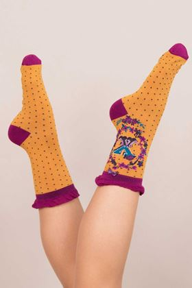 Picture of Powder A-Z Ankle Socks - X