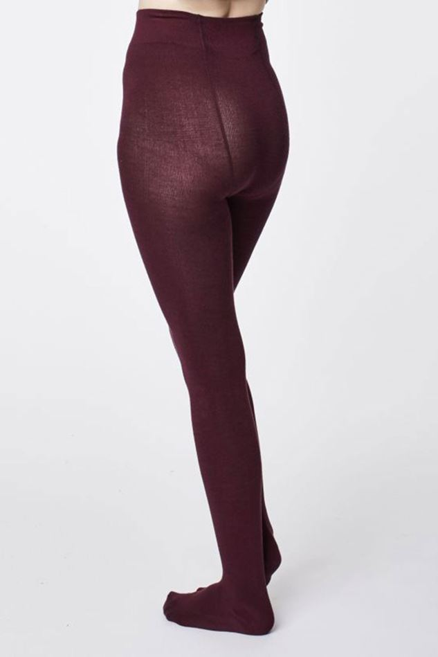 Picture of Thought Elgin Aubergine Tights