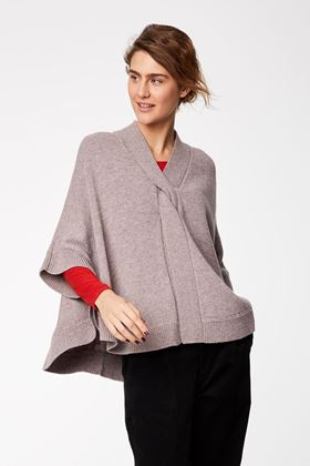 Picture of Thought Marguex Knit Poncho