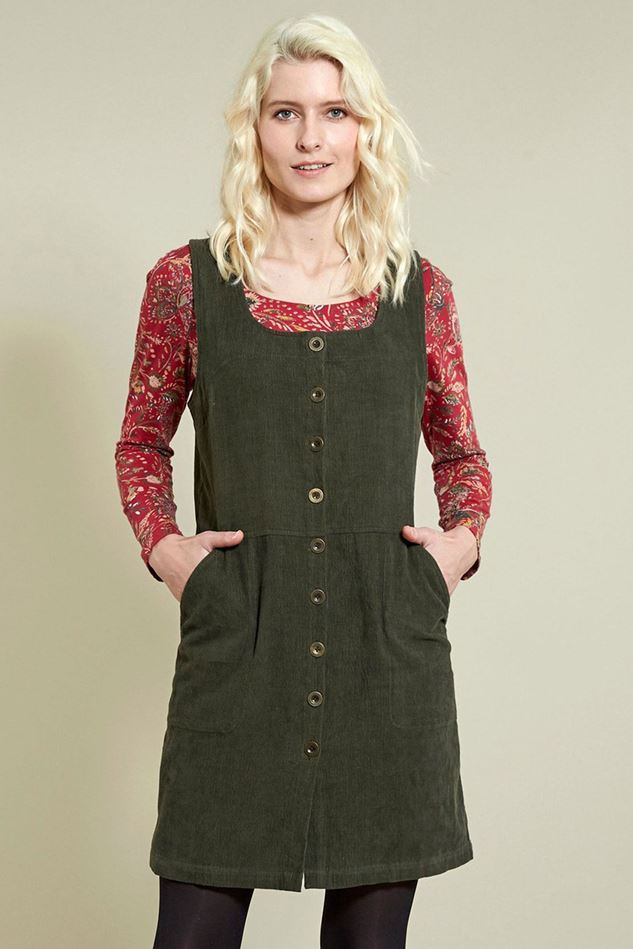 Picture of Nomads Button Front Pinafore