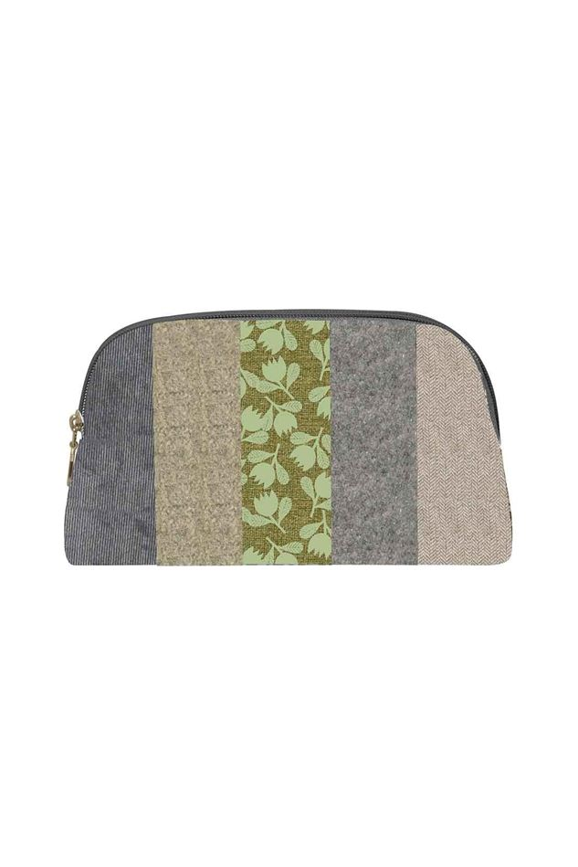 Picture of Earth Squared  Autumn Patchwork Make Up Bag