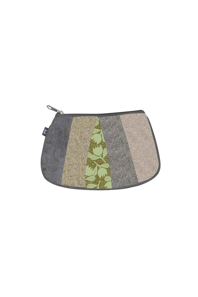 Picture of Earth Squared  Autumn Patchwork Pleat Purse