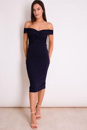 Picture of Girl in Mind Esme  Off Shoulder Dress