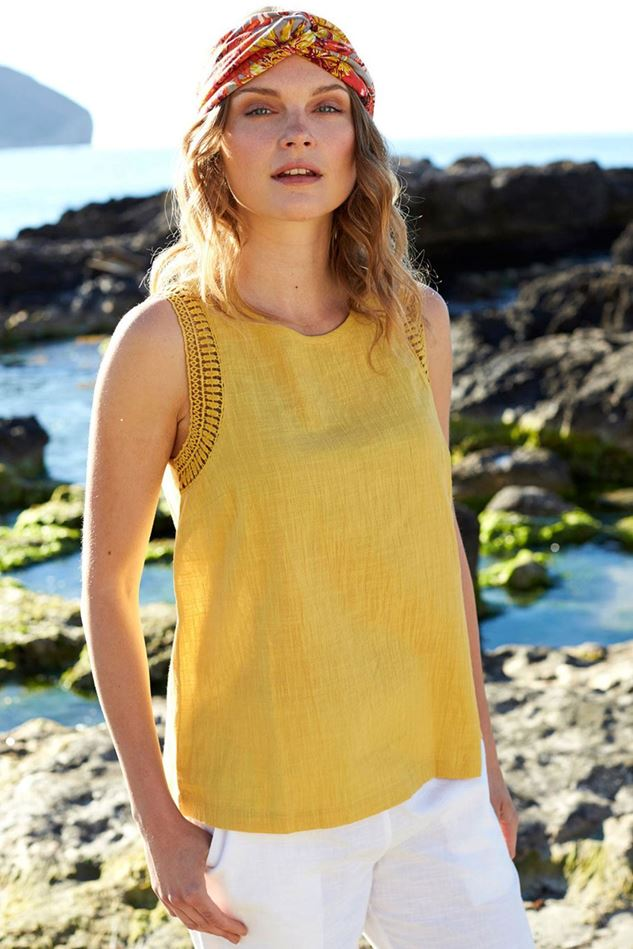 Picture of Nomads Crochet Trim Vest