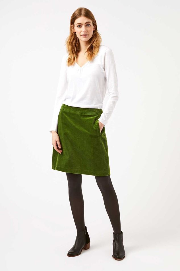 Picture of White Stuff Iris Cord Skirt