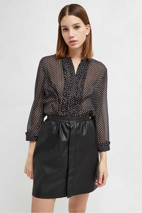 Picture of French Connection Caressa Crinkle Printed Shirt