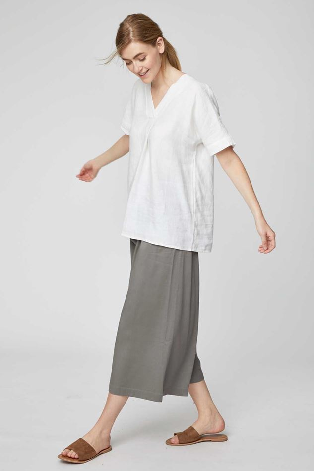 Picture of Thought Eshi Paperbag Waist Culotte Trousers