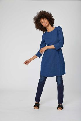 Picture of Thought Kathy Denim Organic Dress