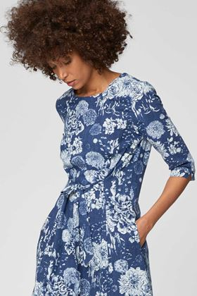 Picture of Thought Kikii Floral Hemp Dress