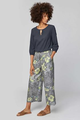 Picture of Thought Lily Nouveau Floral Print Culottes