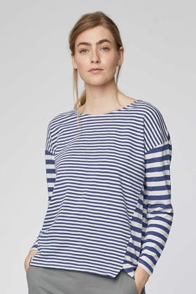 Picture of Thought Stripey Organic Cotton Striped Top