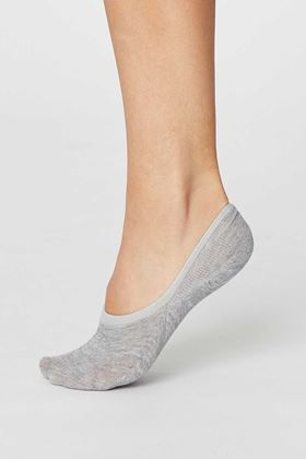 Picture of Thought No Show Invisible Bamboo Socks