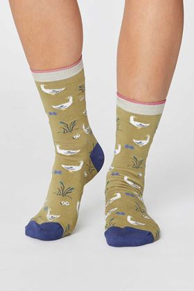 Picture of Thought Goosey Lucy Bird Socks