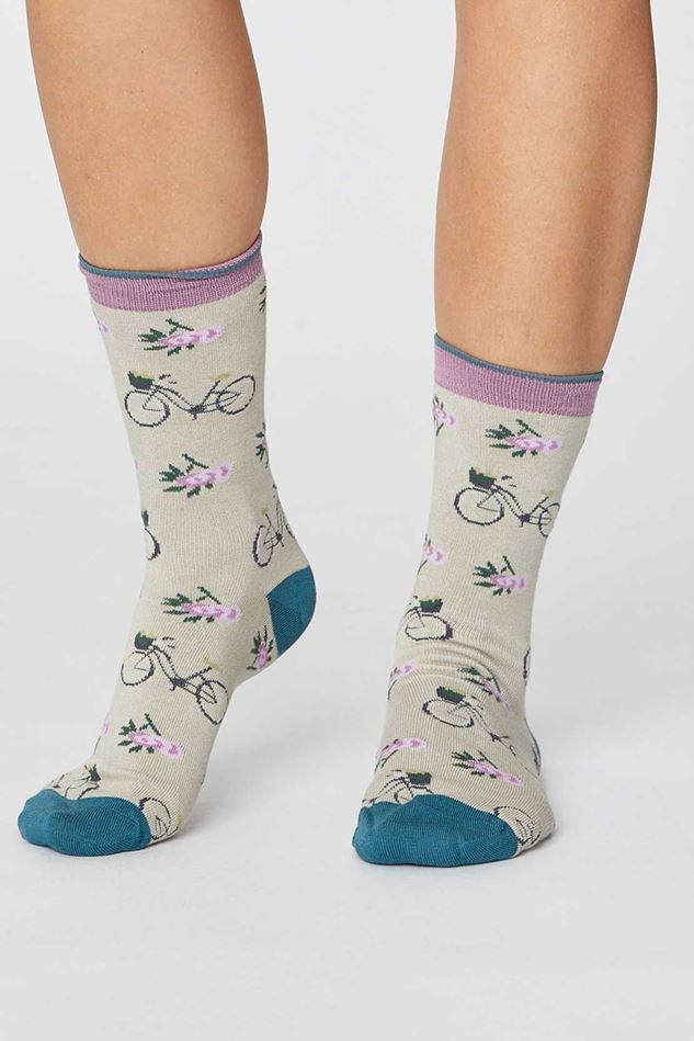 Picture of Thought Bamboo Bicycle Socks