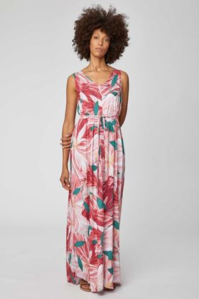 Picture of Thought Blomst Bamboo Jersey Ethical Maxi Dress