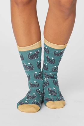 Picture of Thought Cute Cat Bamboo Socks