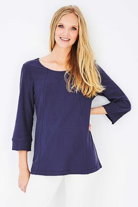 Picture of Adini Cotton Slub Ruth Top