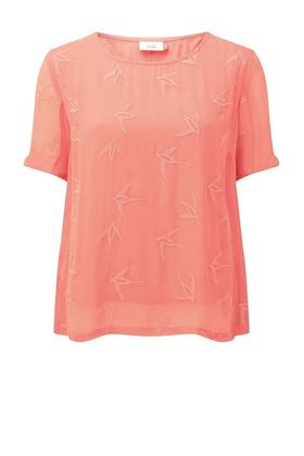 Picture of Adini Swallow Crepe Marnie Blouse