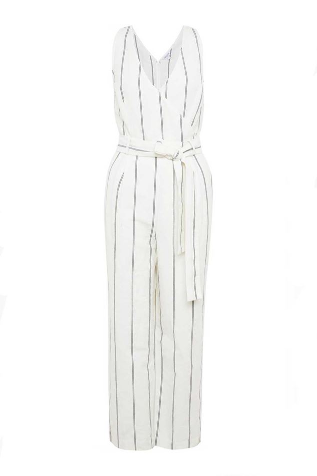 Picture of Great Plains Santa Fe Stripe Sleeveless Jumpsuit